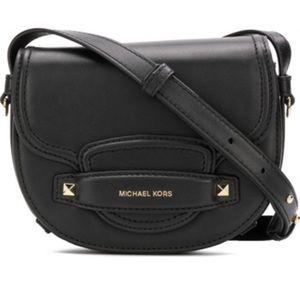 Michael Kors Small Cary Saddle Bag